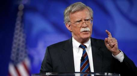 Former U.S. Ambassador to the UN John Bolton