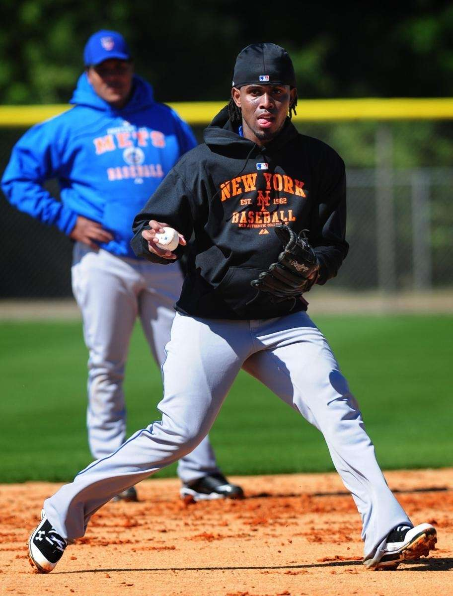 New York Mets, Jose Reyes drills on the