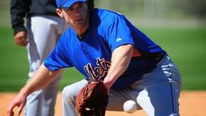 New York Mets, David Wright drills on the