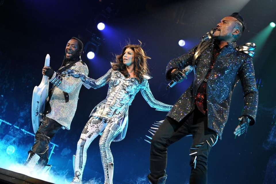Will.i.am, Fergie and Apl.de.ap of The Black Eyed