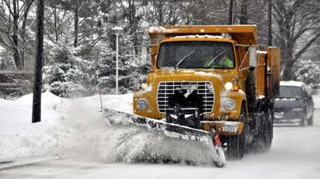 Road crews continue to attack the roads to