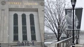 The Yankees' home opener was postponed by snow