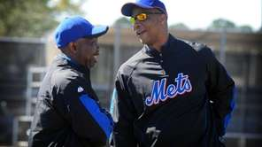 Former New York Mets, Mookie Wilson and Darryl