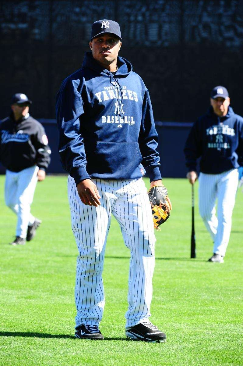 New York Yankees' Robinson Cano during spring training.