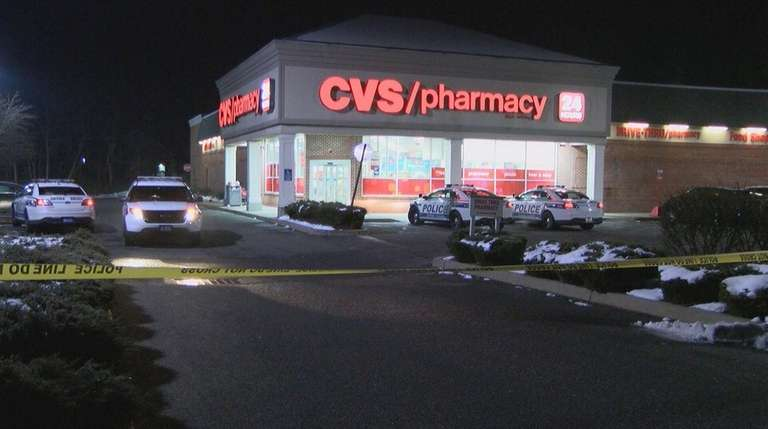 cops 3 armed men robbed cvs in port jefferson station newsday