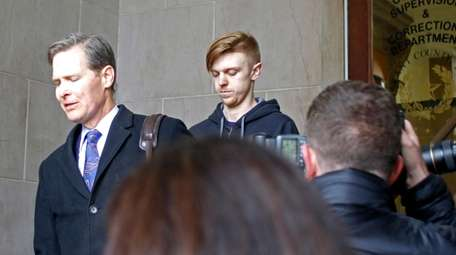 Ethan Couch, right, is released from Tarrant County