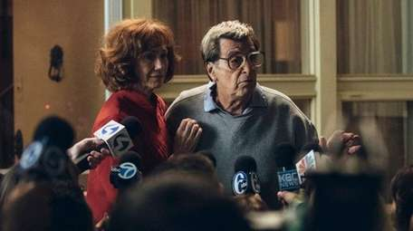 Kathy Baker and Al Pacino star in HBO's