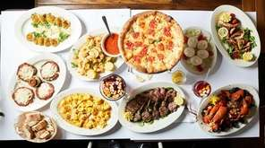 Family-style dining is the specialty of Patrizia's, a