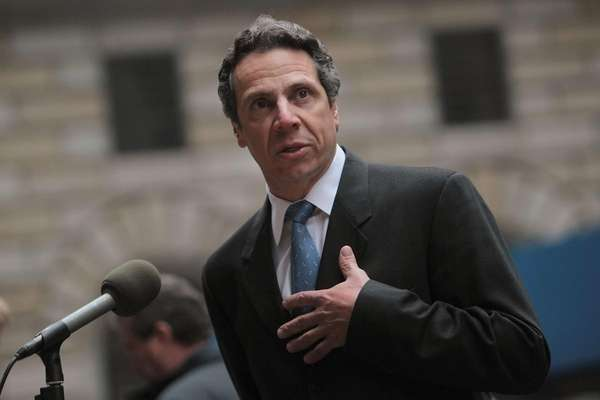 New York Attorney General Andrew Cuomo speaks during
