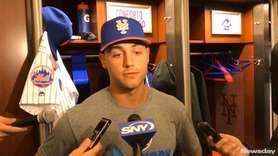 Mets outfielder Michael Conforto, who had shoulder surgery