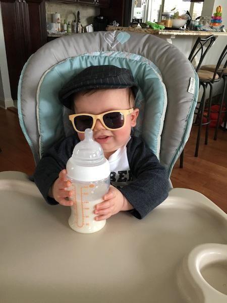 Lucas got milk