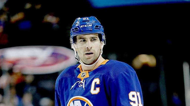 John Tavares, soon to be a free agent,