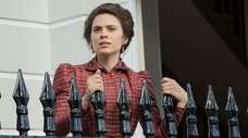 Hayley Atwell stars as Margaret Schlegel in Starz's