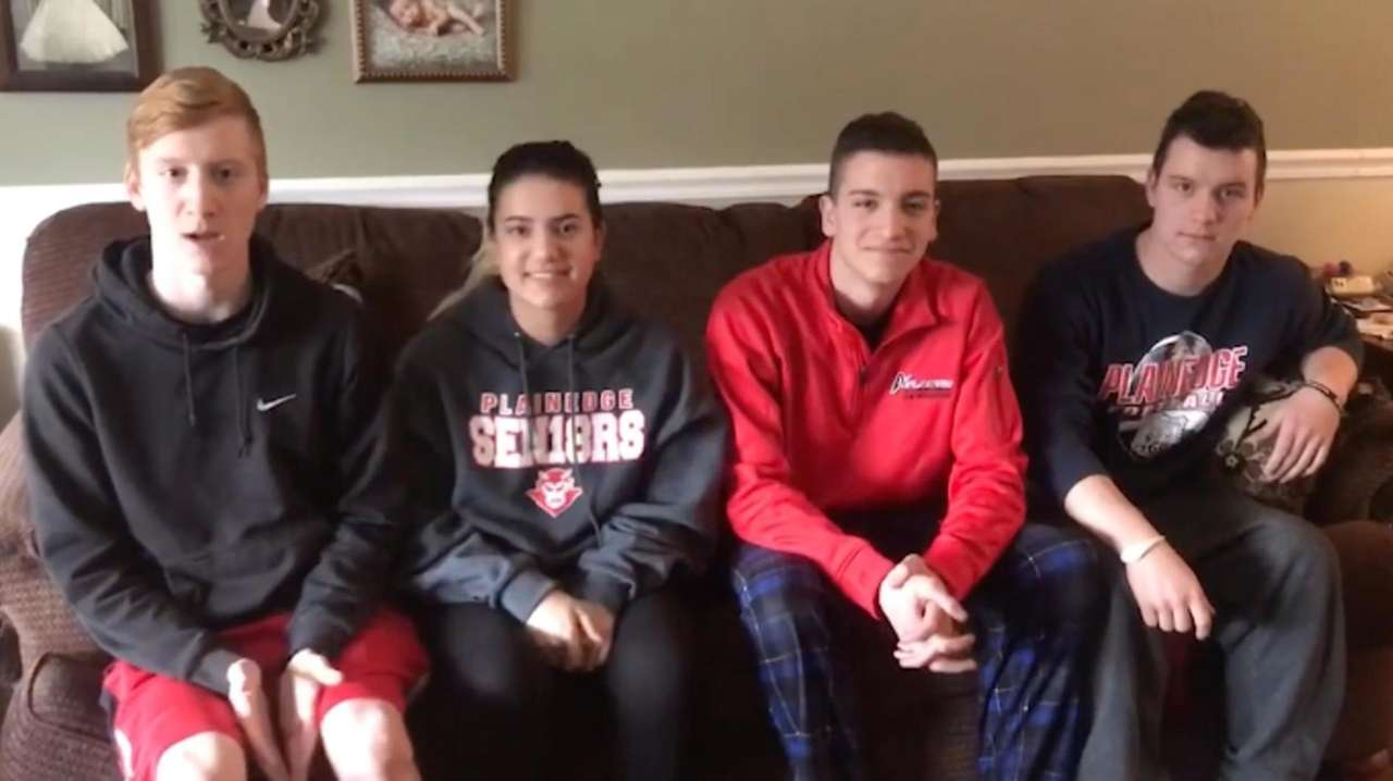 Plainedge High School seniors -- and quadruplets --