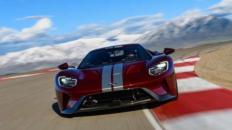 Ford says its 2018 GT,  a race