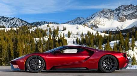2018 Ford GT Vehicle is a Two-door, two-passenger