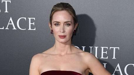 Emily Blunt attends the premiere of her new