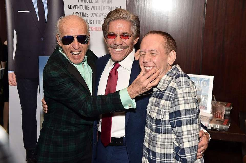 Ron Delsener, Geraldo Rivera and Gilbert Gottfried attend