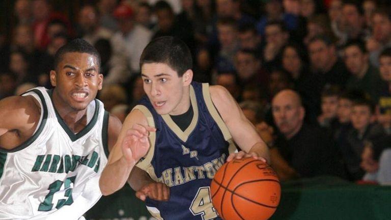 Suffolk Class A Final Boy's Basketball, Harborfields HS