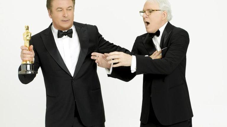 Steve Martin (right) and Alec Baldwin (left) will