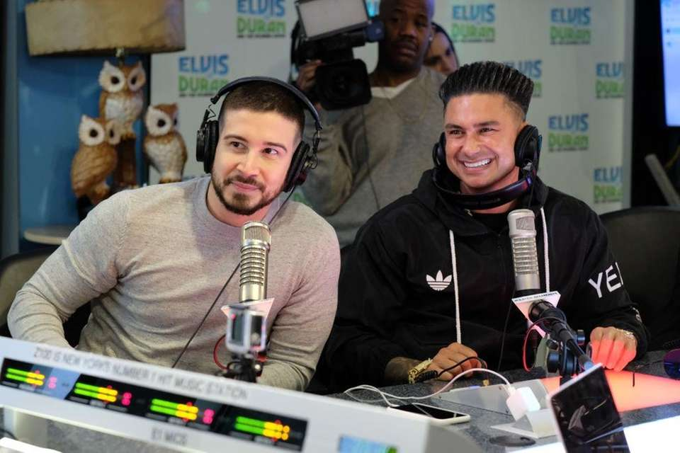 Vinny Guadagnino, left, and Paul