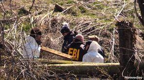 The FBI found human remains in Babylon Village