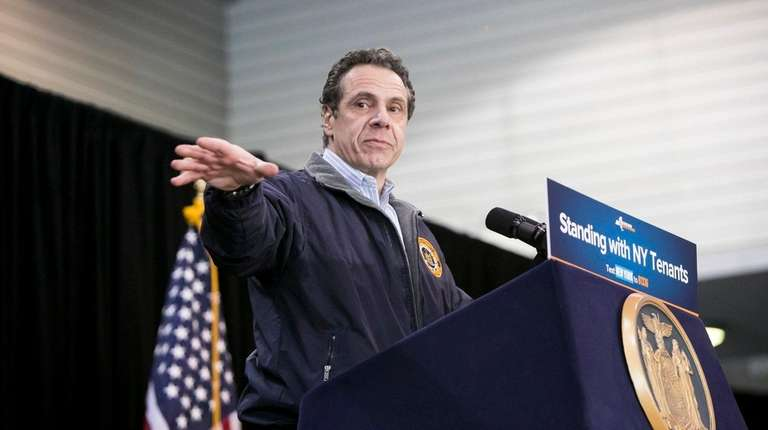 Gov. Andrew M. Cuomo at the Johnson Community