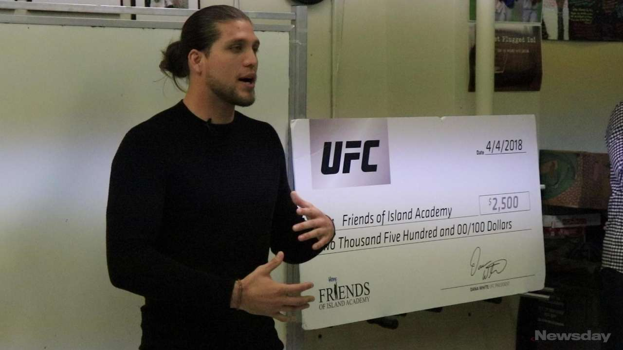 On Wednesday, UFC featherweight Brian Ortega visited Friends