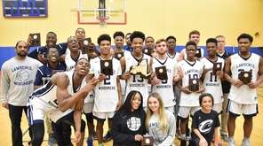 Lawrence Woodmere Academy defeated Collegiate School to win