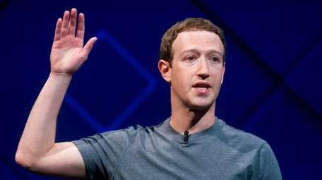 CEO Mark Zuckerberg speaks at a Facebook developer
