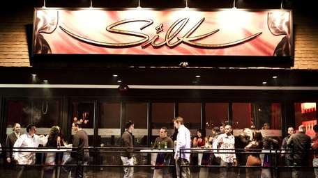 The exterior of Silk, a nightclub in Hauppauge.