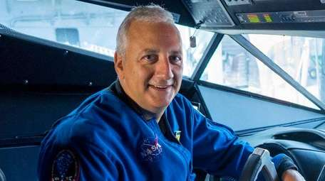 Astronaut Mike Massimino, who grew up in Franklin