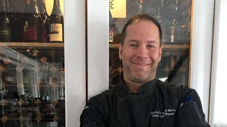John Bauer is the new executive chef at