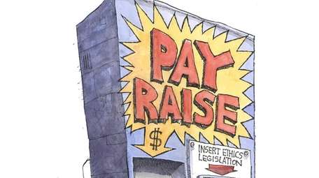 A pay raise is once again at play
