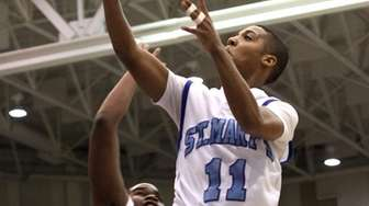 St. Mary's Dante Agnew gets two. (March 2,