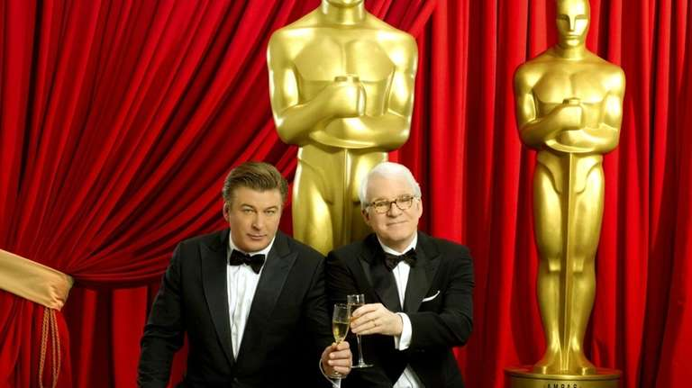 Steve Martin and Alec Baldwin will co-hosts of