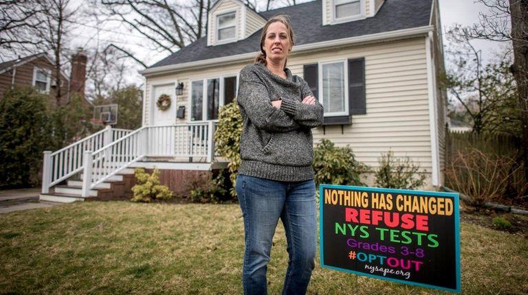 Jeanette Deutermann, lead organizer of Long Island Opt