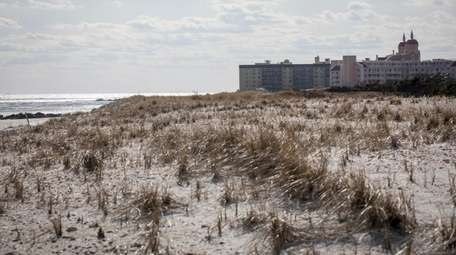 Lido Beach, shown Thursday with protective sand dunes