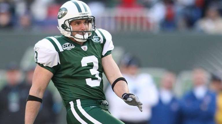 Jay Feely #3 of the New York Jets