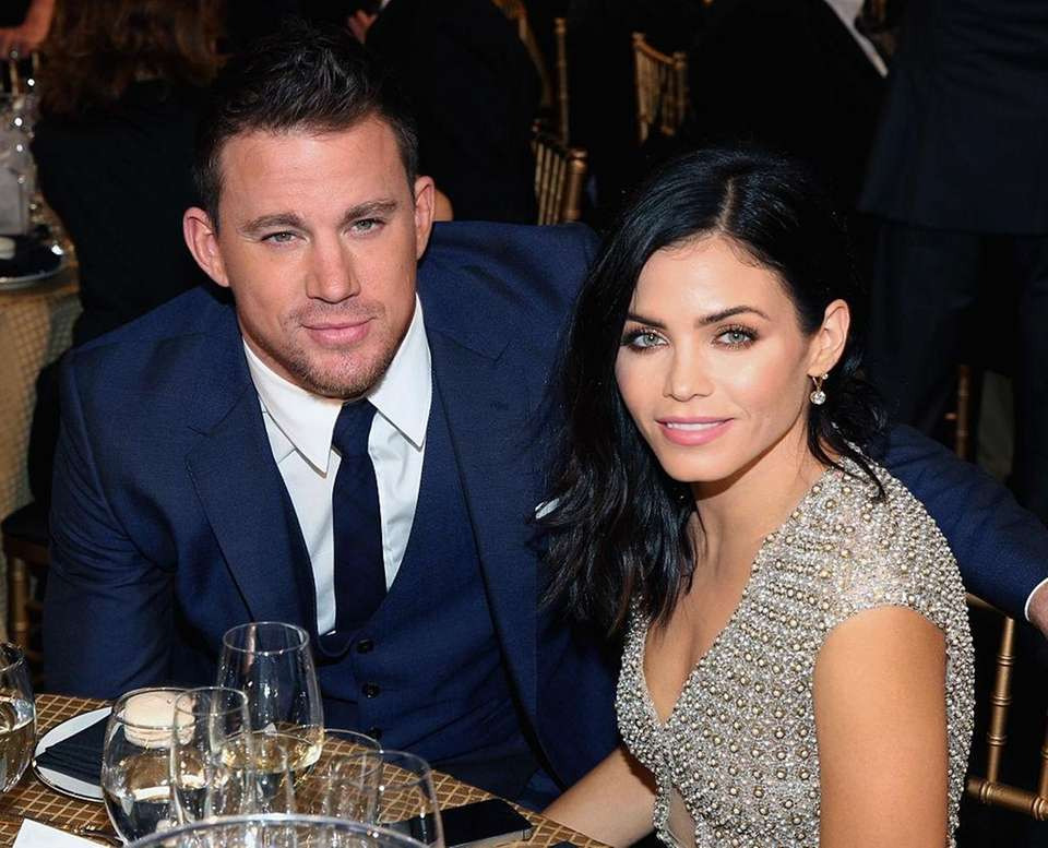 Channing Tatum and Jenna Dewan Tatum, on April