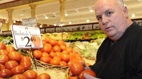 Thomas Barresi, co-owner of Uncle Giuseppe's Marketplace in