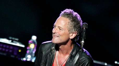 Lindsey Buckingham performs at the Honda Center on