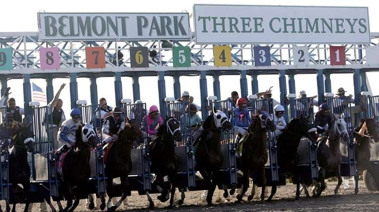 The 2010 Belmont Stakes will be run as