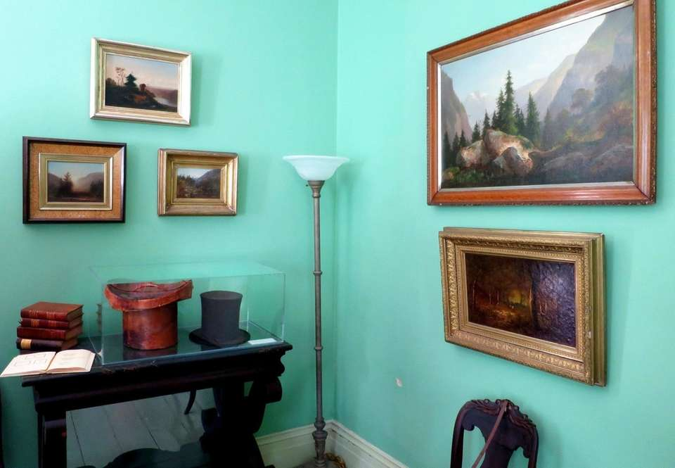 Paintings by artist Thomas Cole, considered the founder