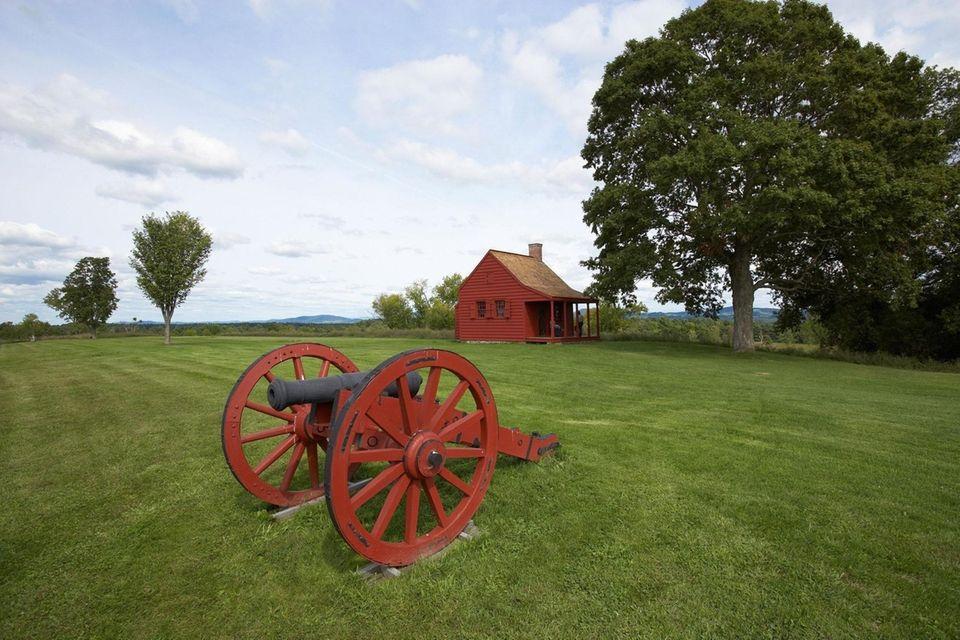 Saratoga National Historical Park, John Neilson House and