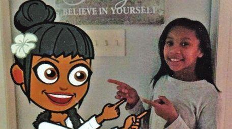 Kidsday reporter Jillian Rickford enjoys expressing herself with