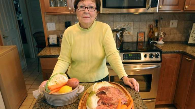 Patricia Doyle prepares a traditional Irish meal of