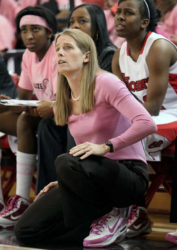 St. John's University women's basketball head coach Kim