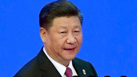 China's President Xi Jinping at the Boao Forum