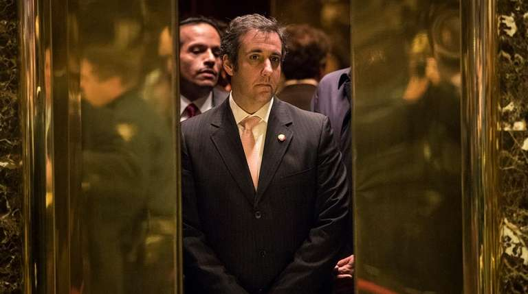 Michael Cohen, personal lawyer for President Donald Trump,